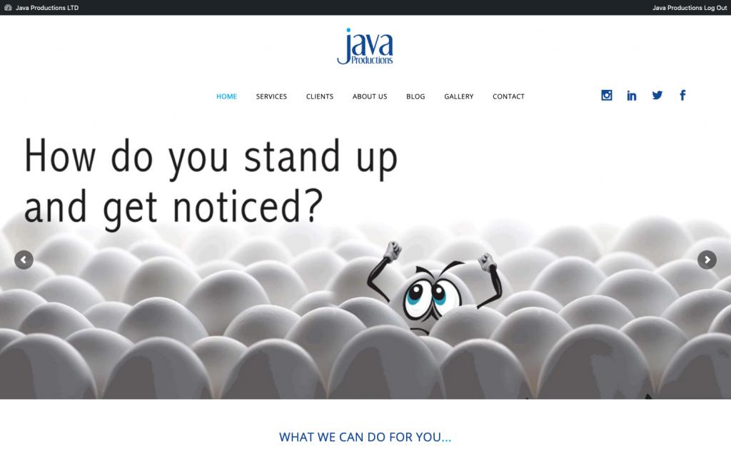 Java Website