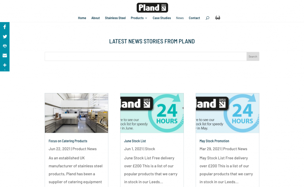 Pland Website