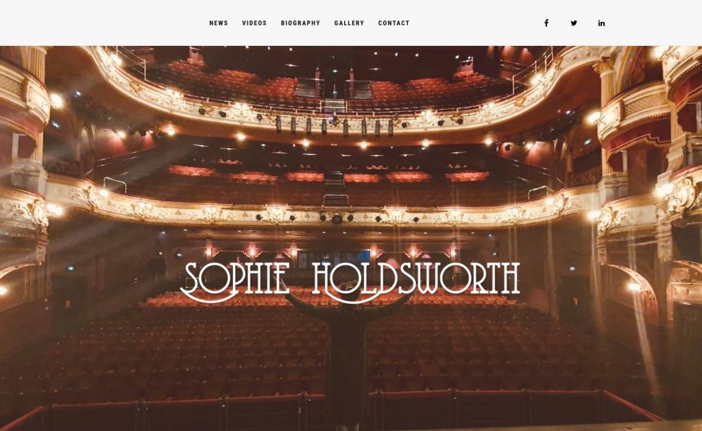 Sophie Holdsworth website